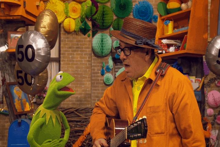 Elvis Costello November Sesame Street 50