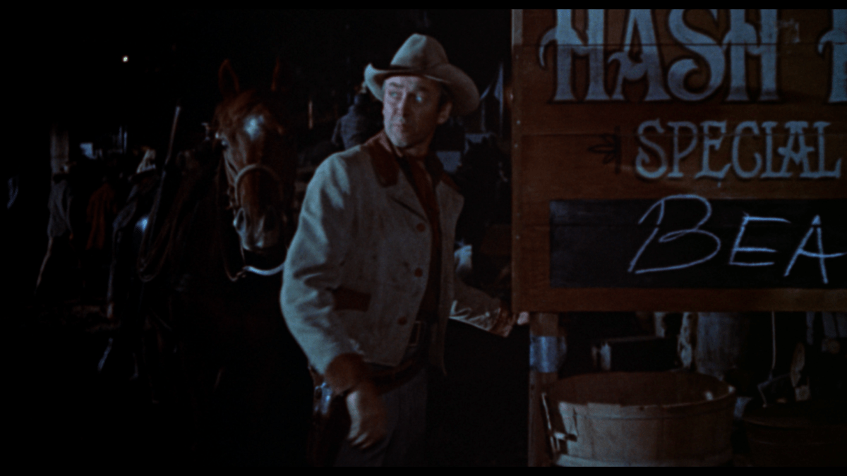 the far country jimmy stewart eating