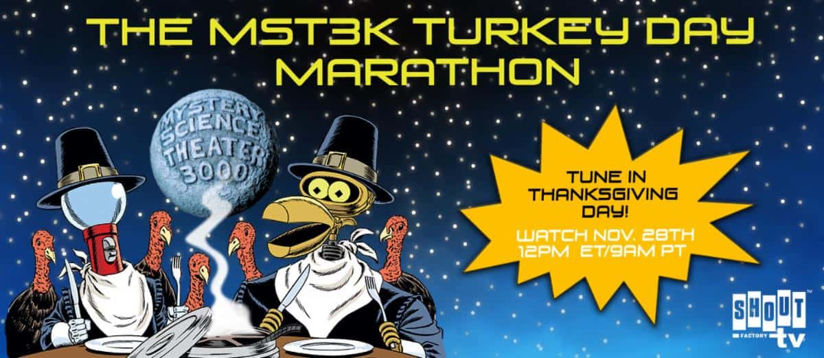 mst3k 2019 turkey day marathon november weekend