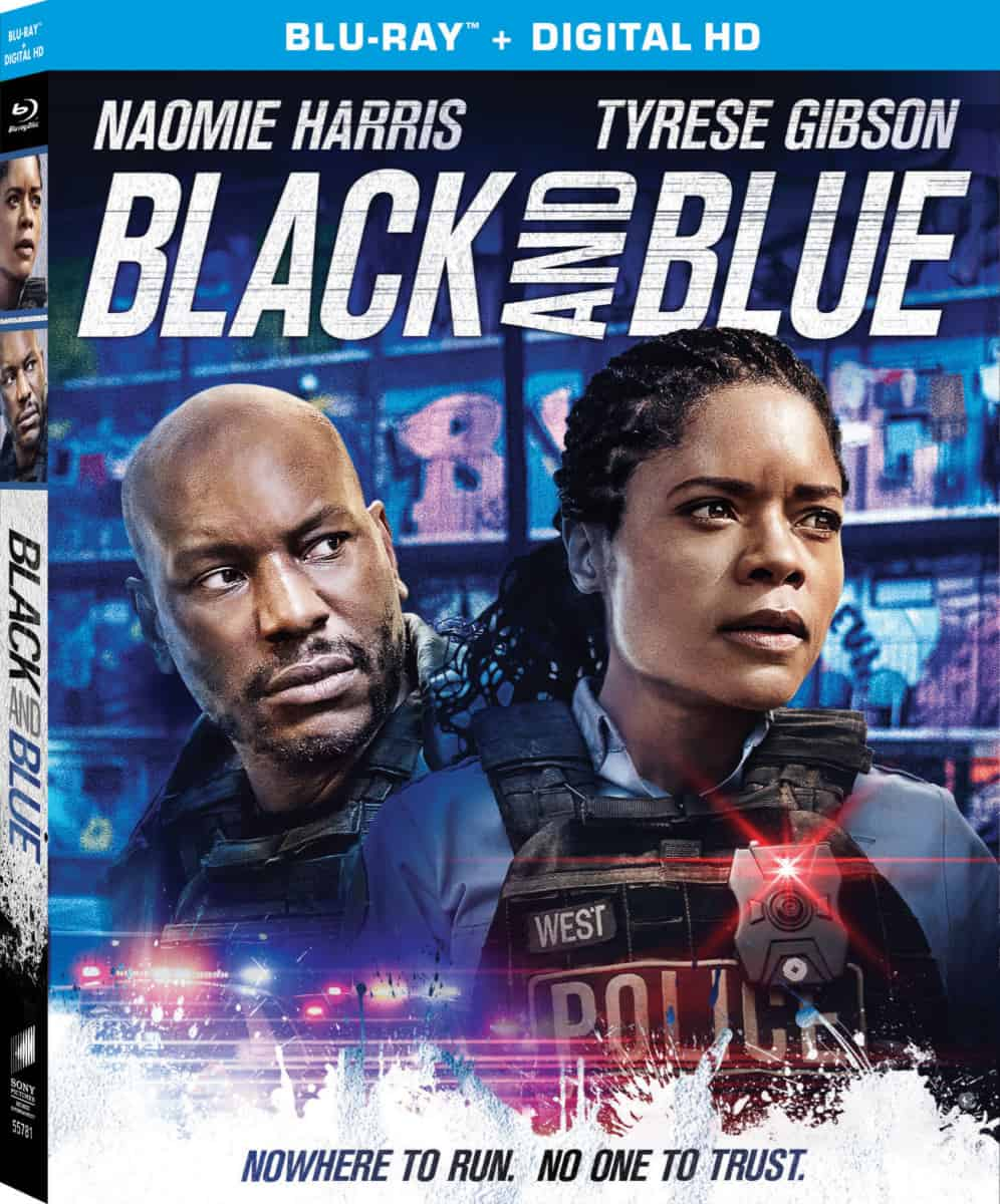 Black and Blue Blu-ray box