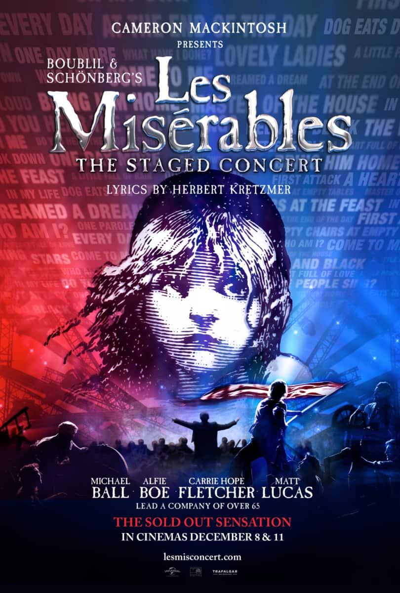 Les Miserables cinema concert feat