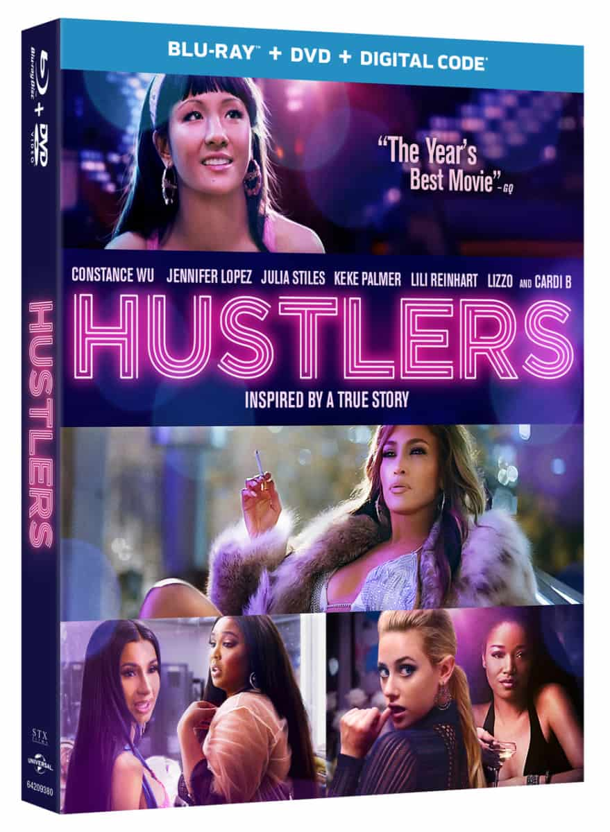 Hustlers blu-ray box