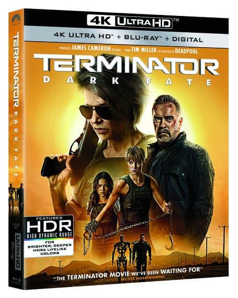 Terminator Dark Fate 4K UHD
