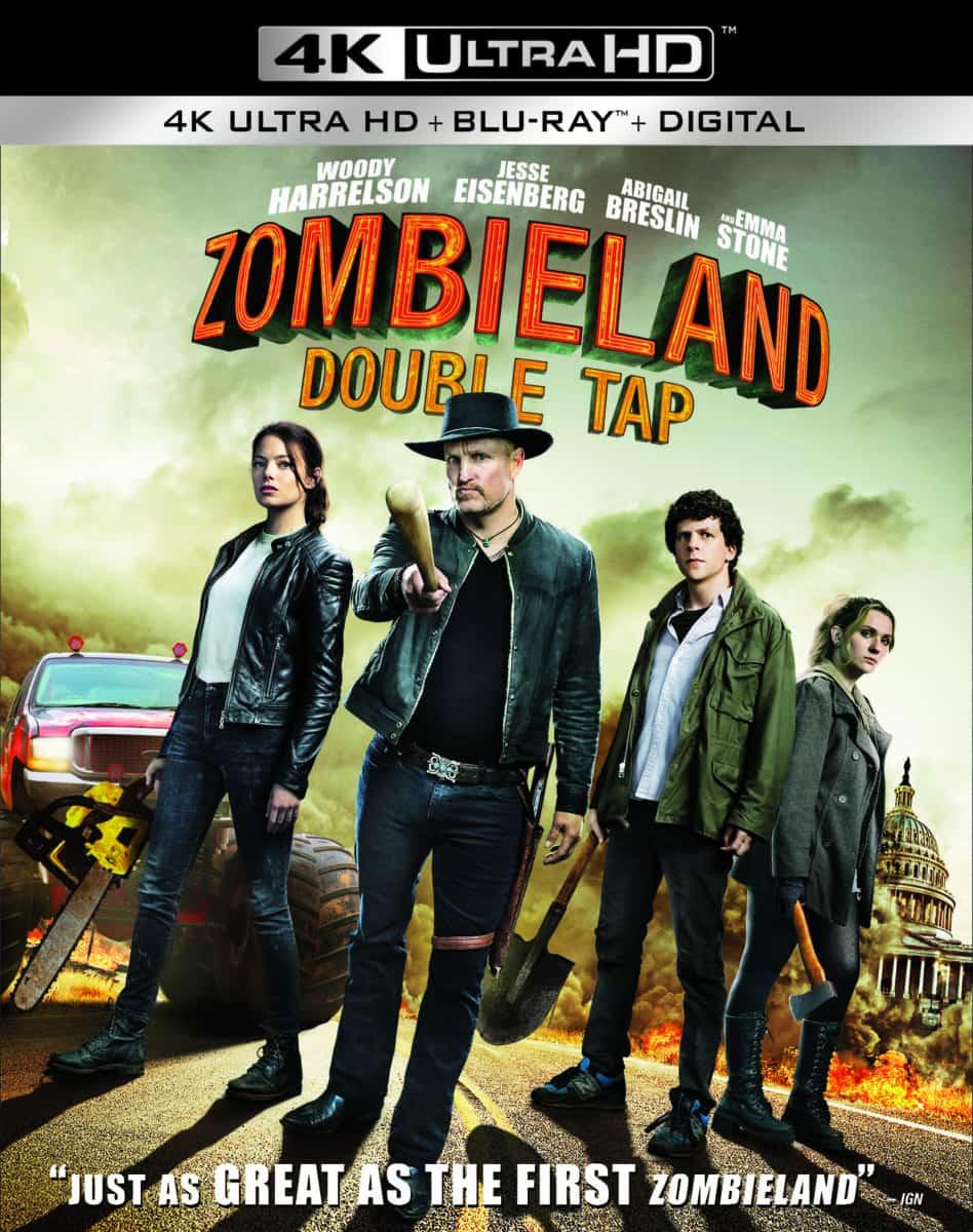 Zombieland Double Tap 4K news