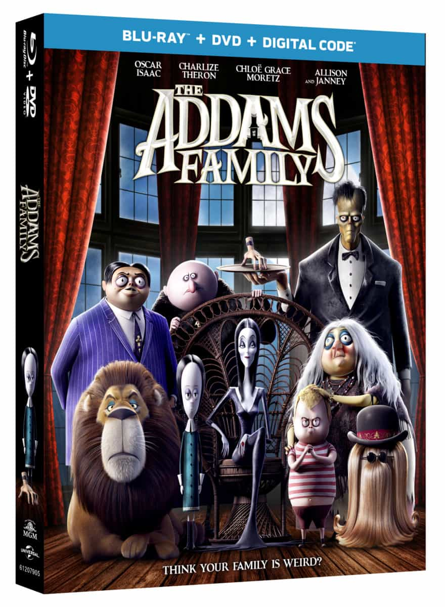 the addams family 2019 blu