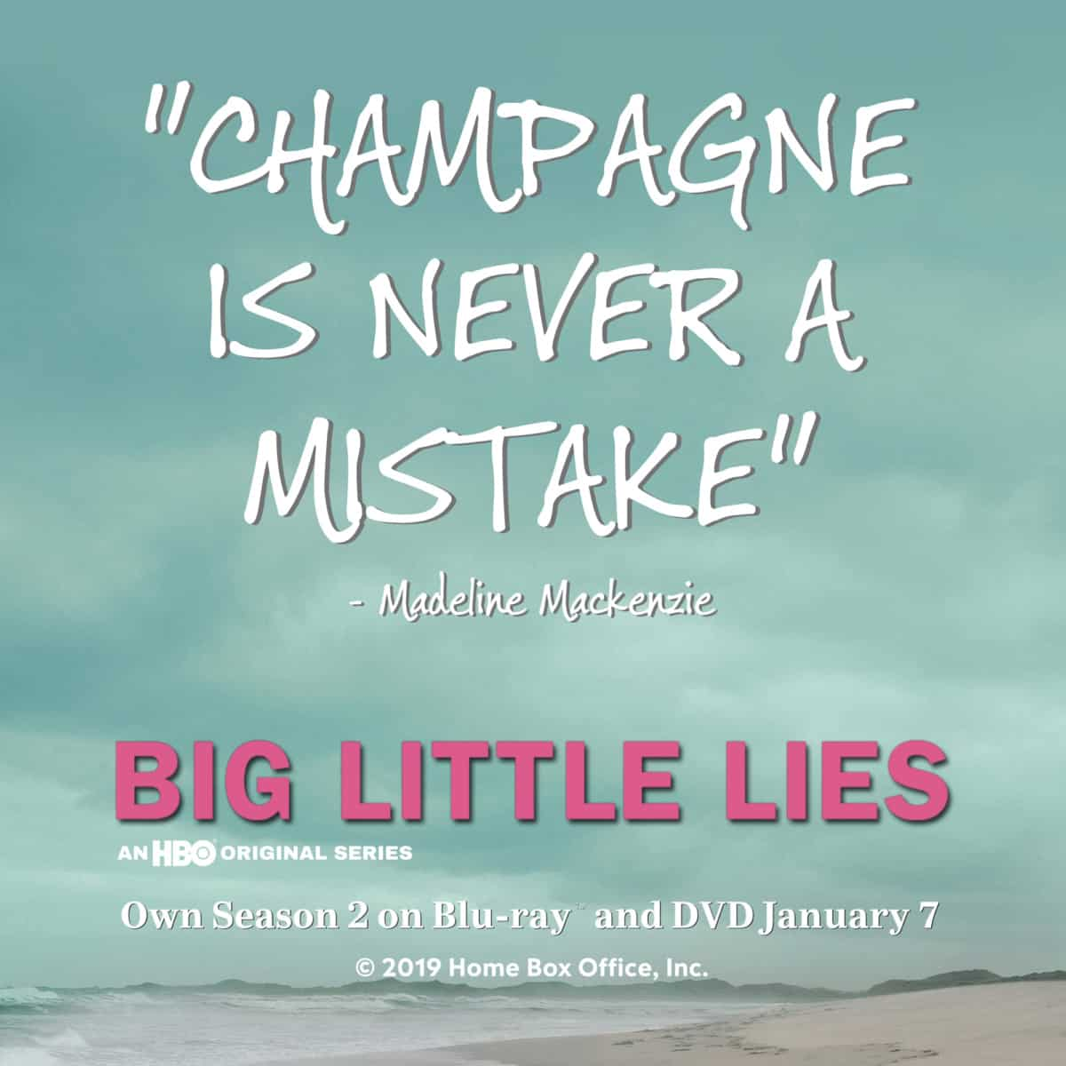 Big Little Lies Champagne meme