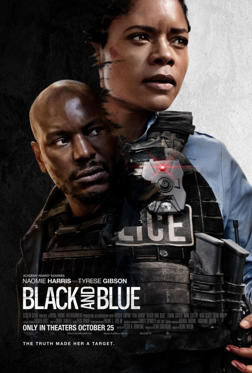 Naomie Harris & Tyrese Gibson Star in BLACK AND BLUE, Coming to Digital 1/31 and Blu-ray & DVD 1/21 1