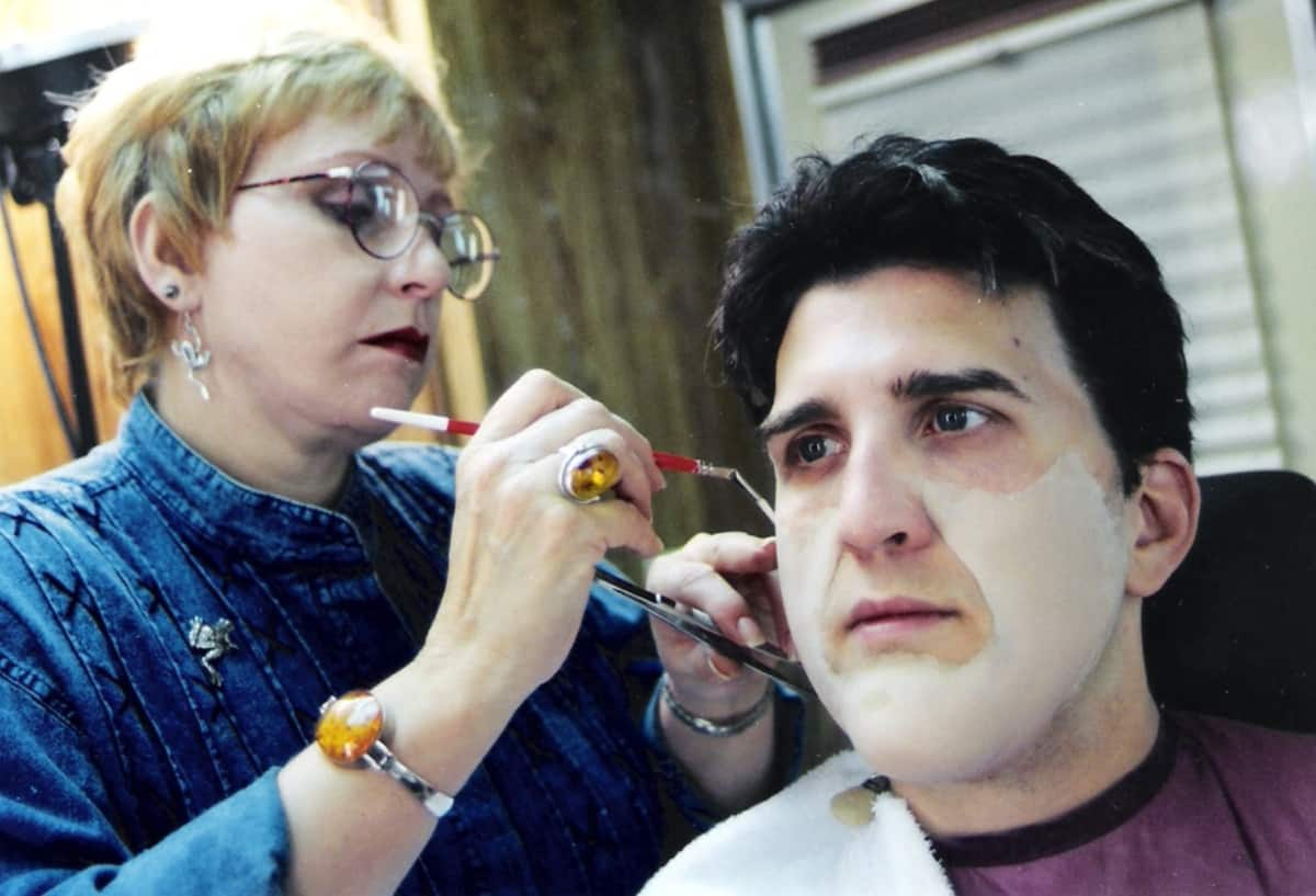 Daniel Roebuck makeup