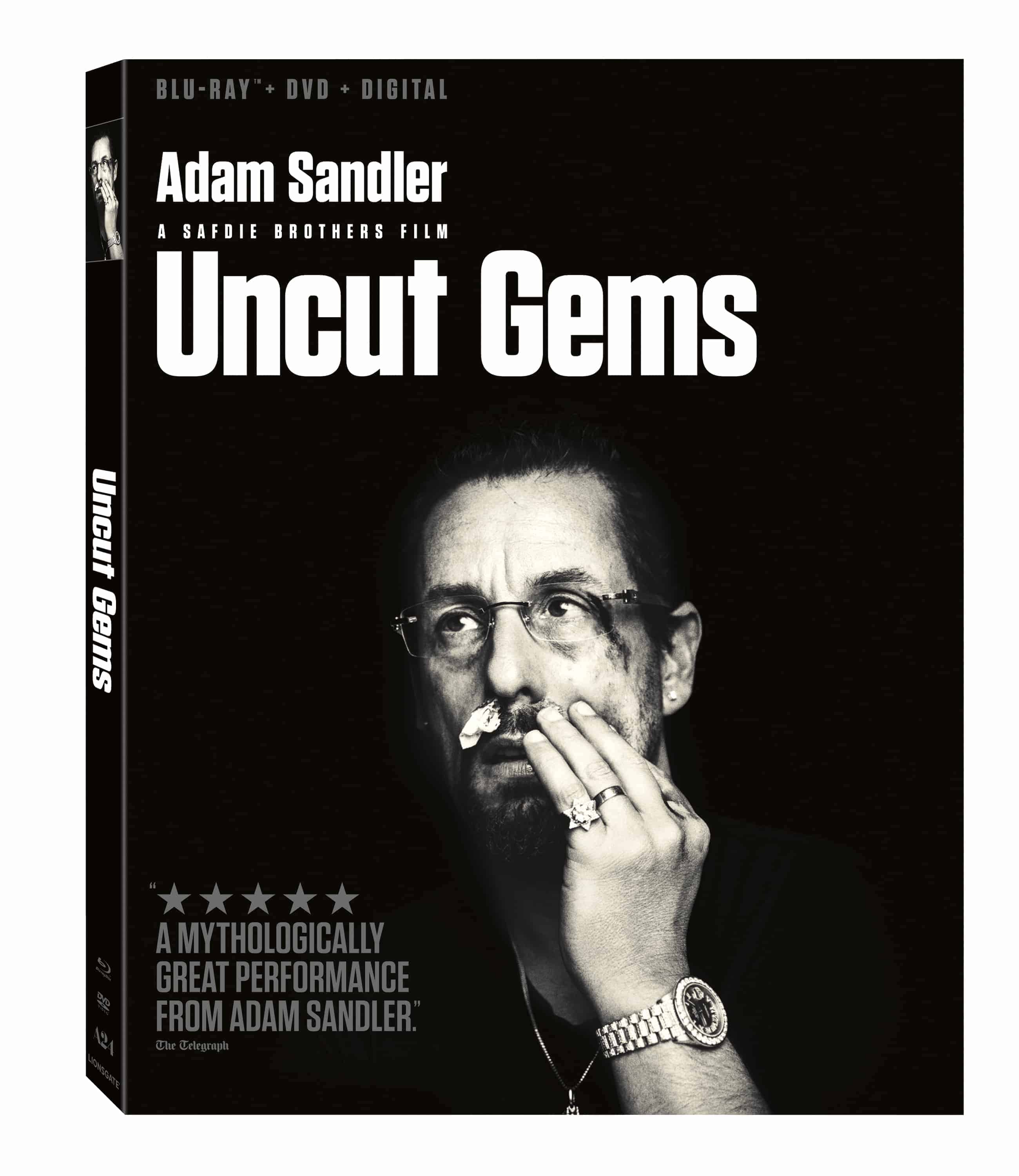 Uncut Gems Blu-ray box art