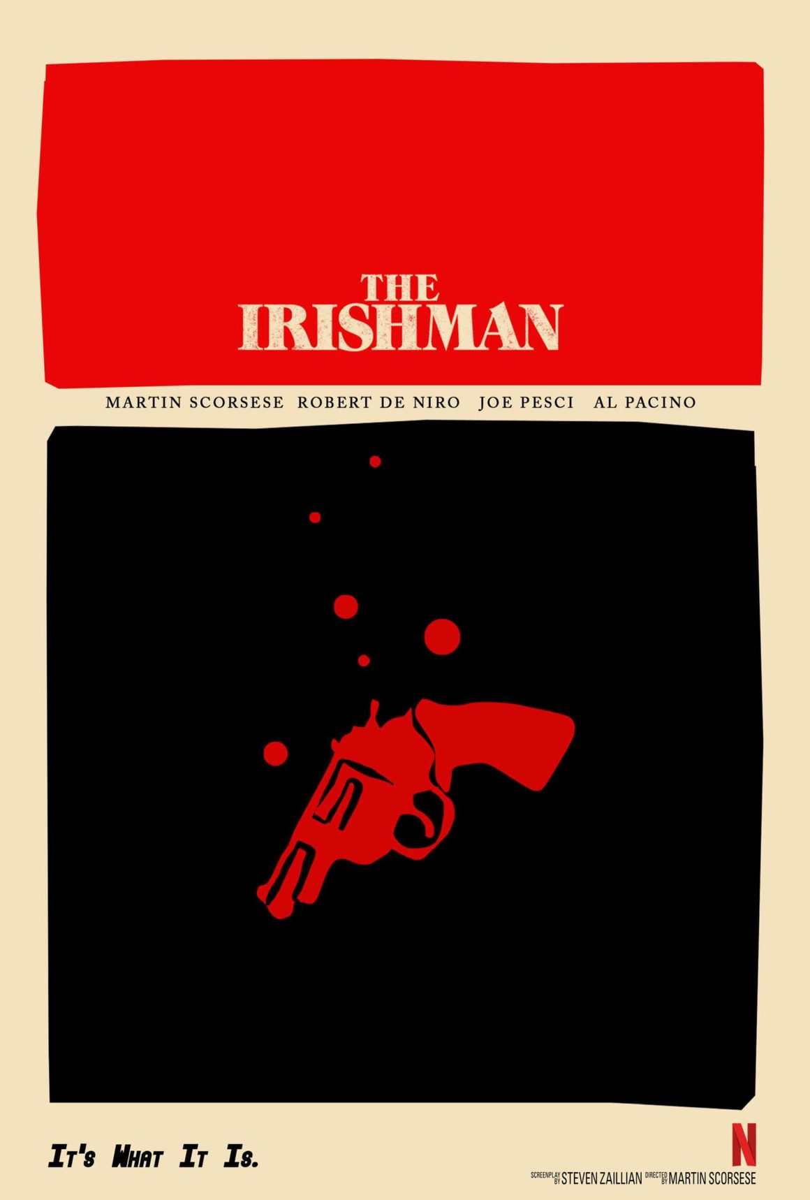 The Irishman lands some vintage posters for Oscar time 3