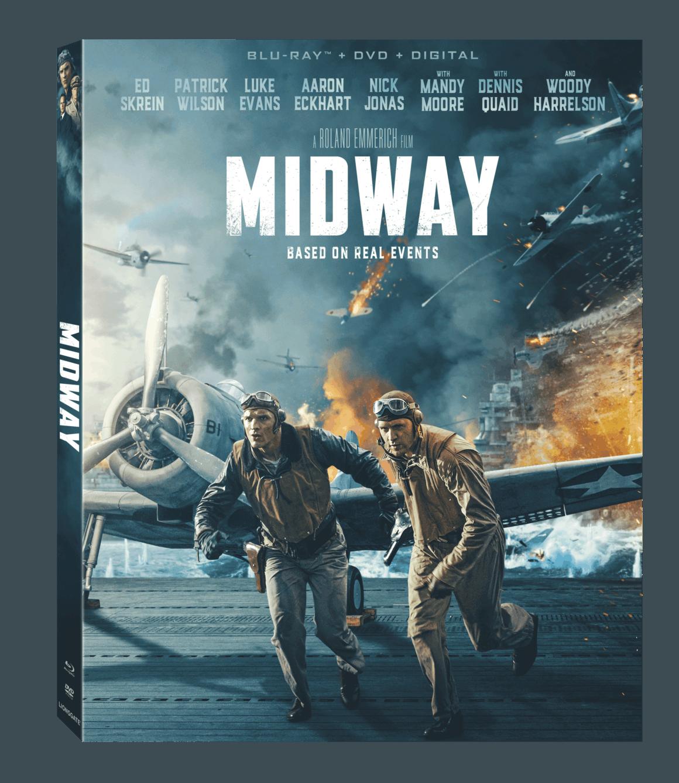 Midway Blu-ray box art