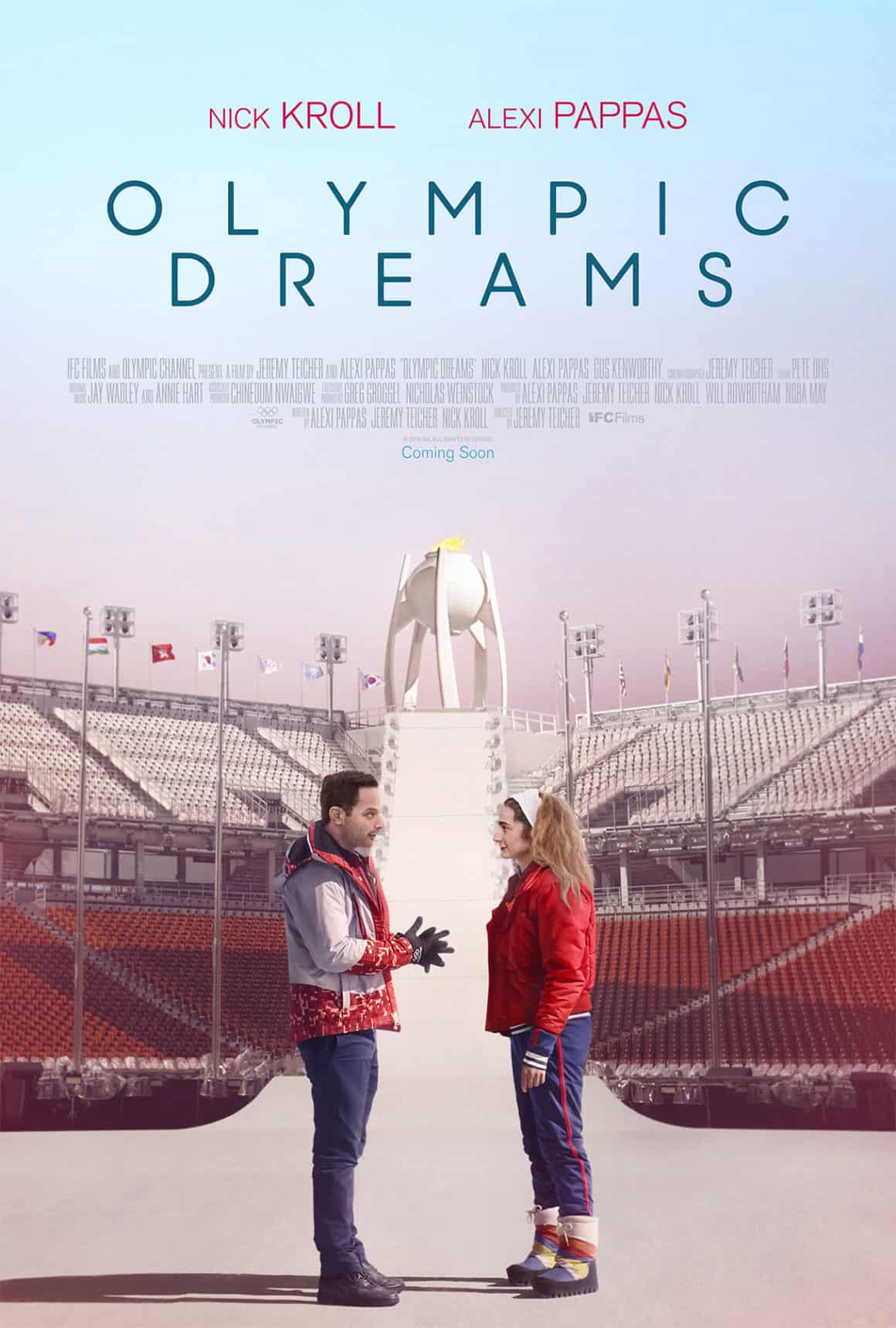 Olympic Dreams feature release poster