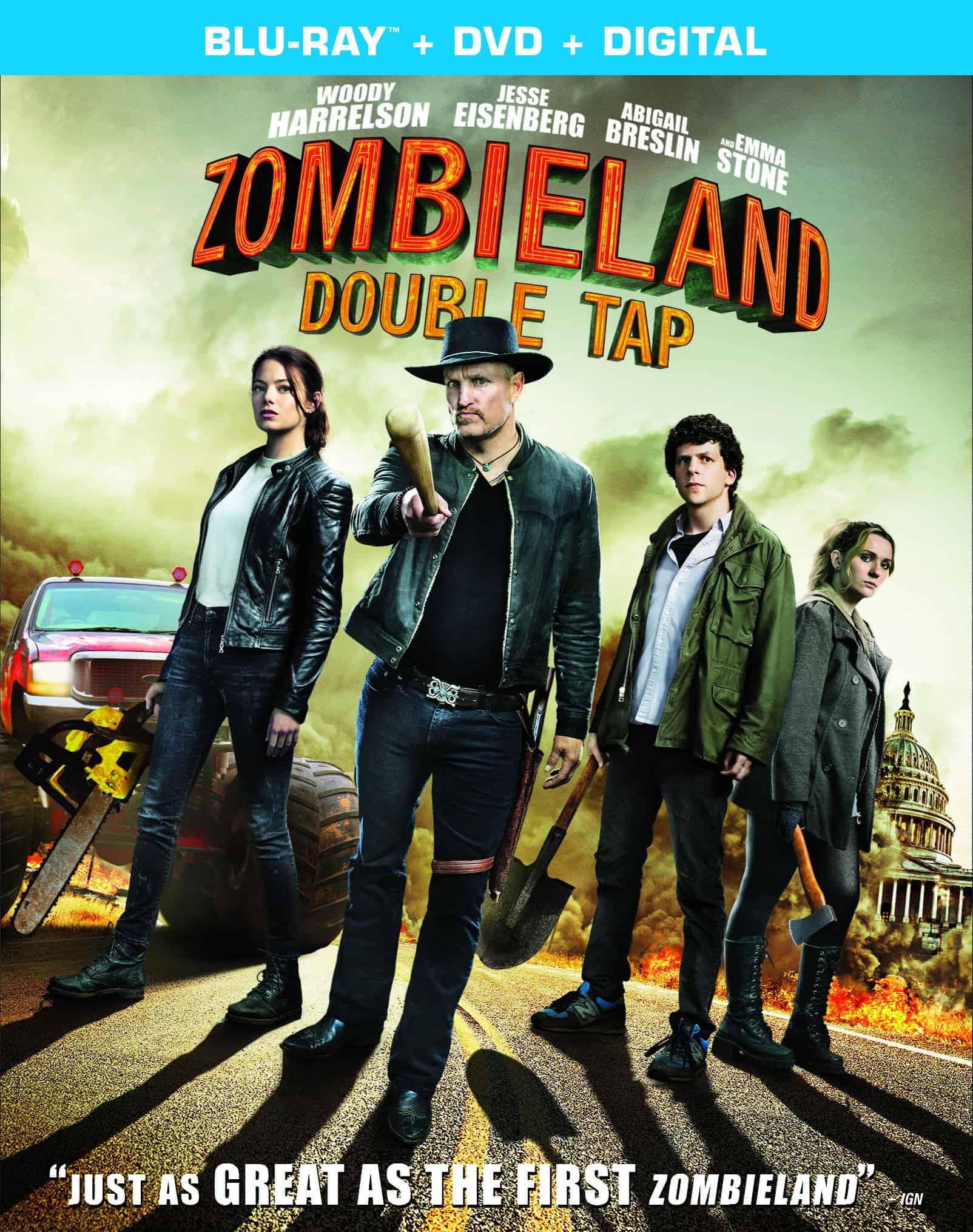 zombieland double tap blu