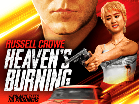 Heavens Burning trailers poster Russell Crowe