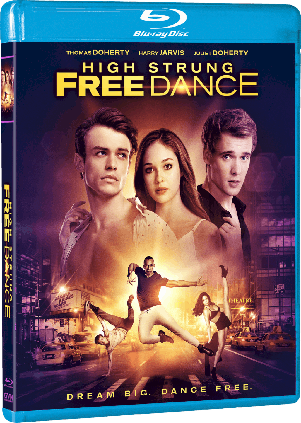 High Strung Free Dance blu-ray box art weathering with you