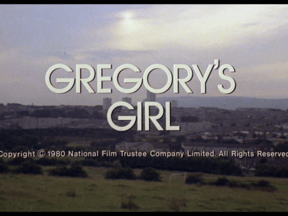 Gregory's Girl title Blu-ray Film Movement