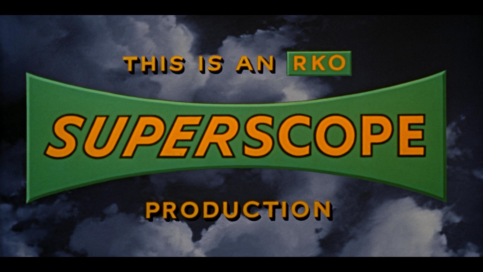 Underwater Warner Archive Blu-ray Superscope