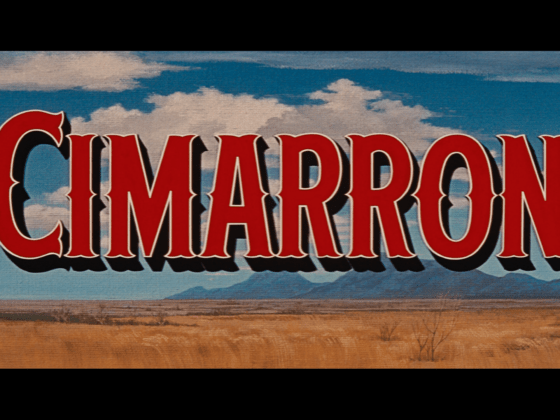Cimarron 1960 Blu-ray Warner Archive title
