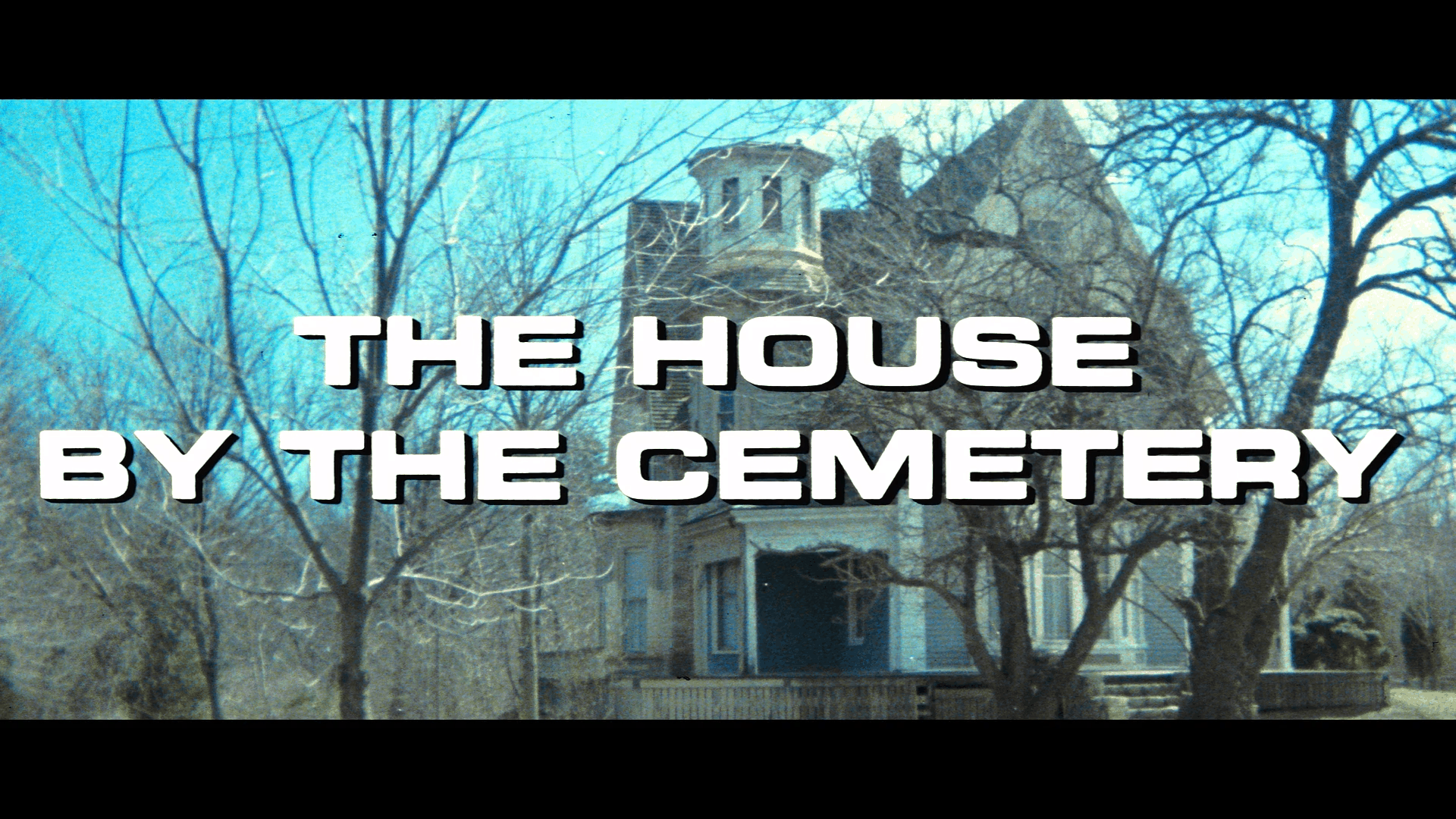 the house by the cemetery blu ray title