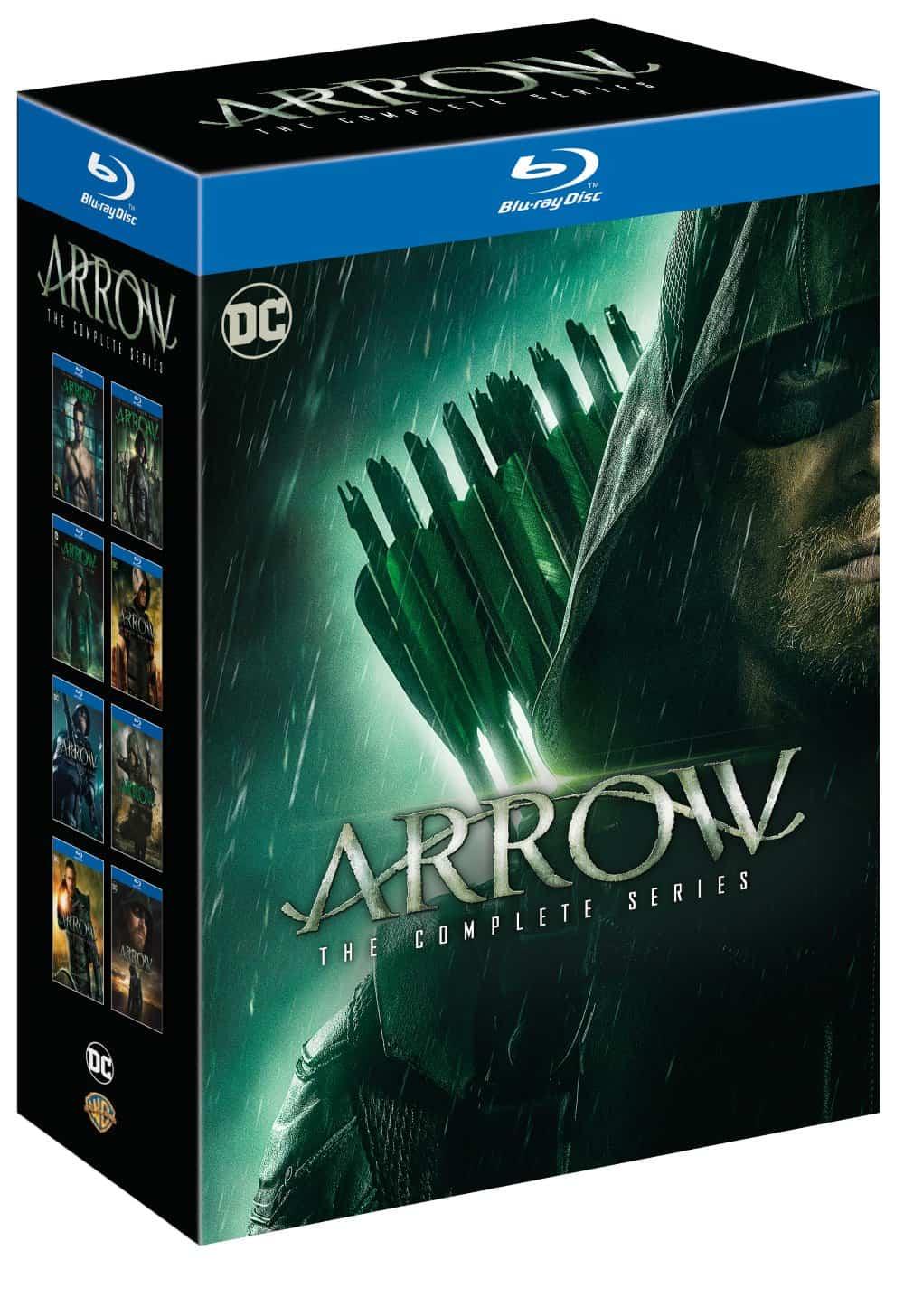 Arrow Blu-ray complete series CW