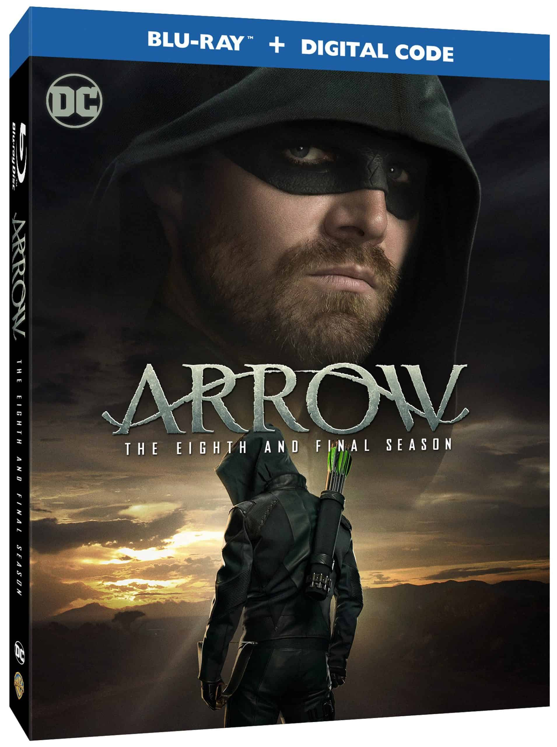 Arrow Blu-ray Season 8