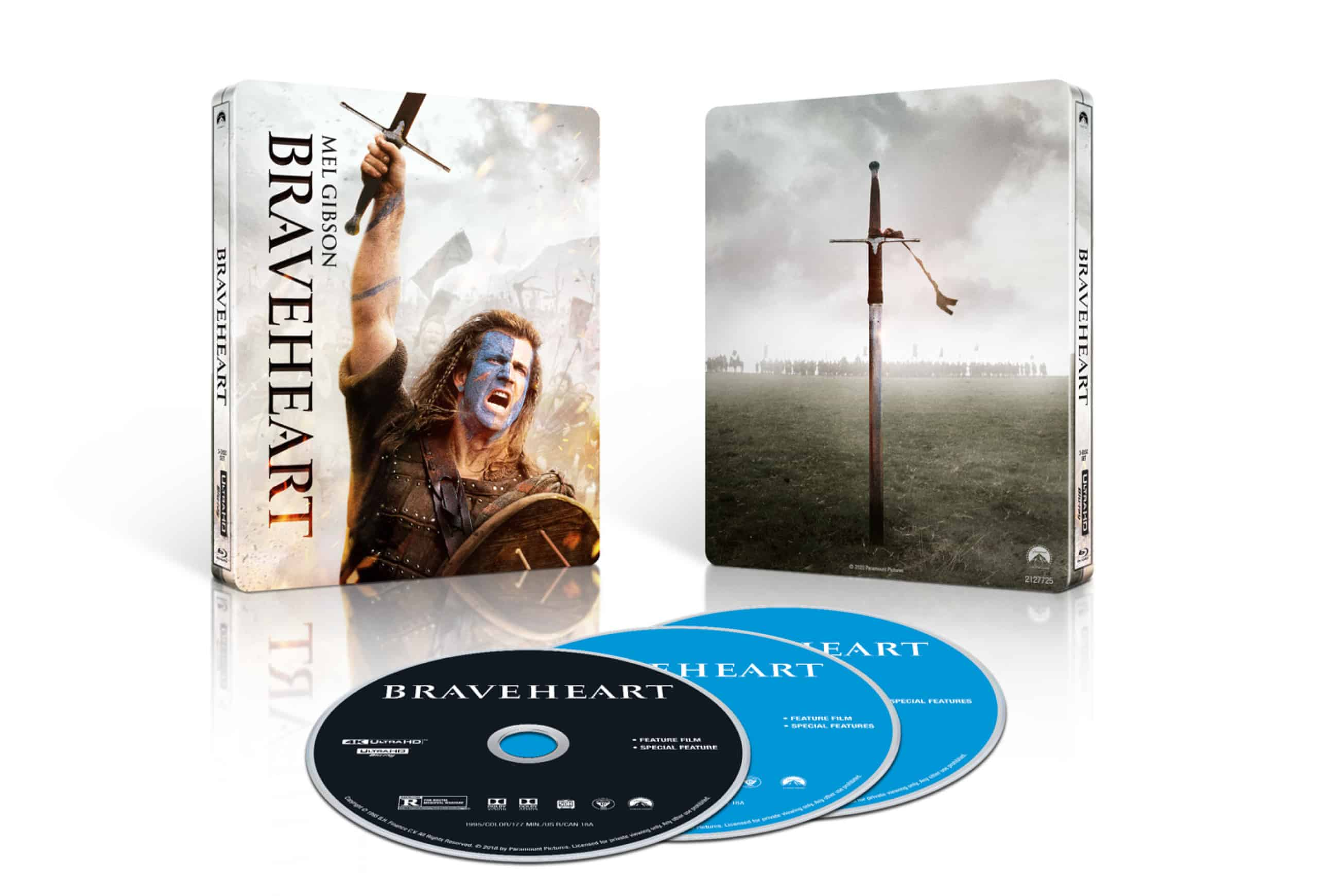 Braveheart 4K Steelbook May 2020