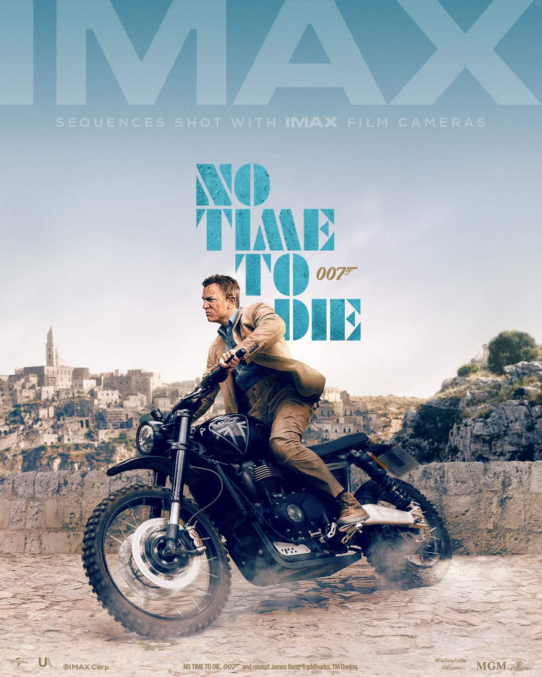 IMAX No Time to Die Safin James Bond