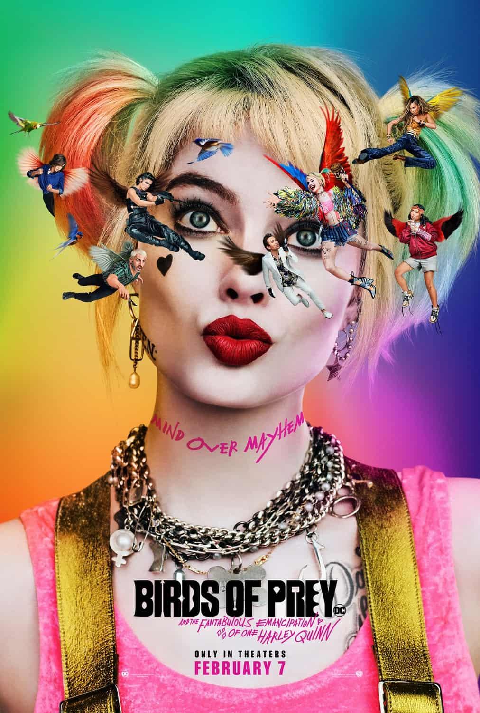 Birds of Prey ScreenX poster Feb 2020