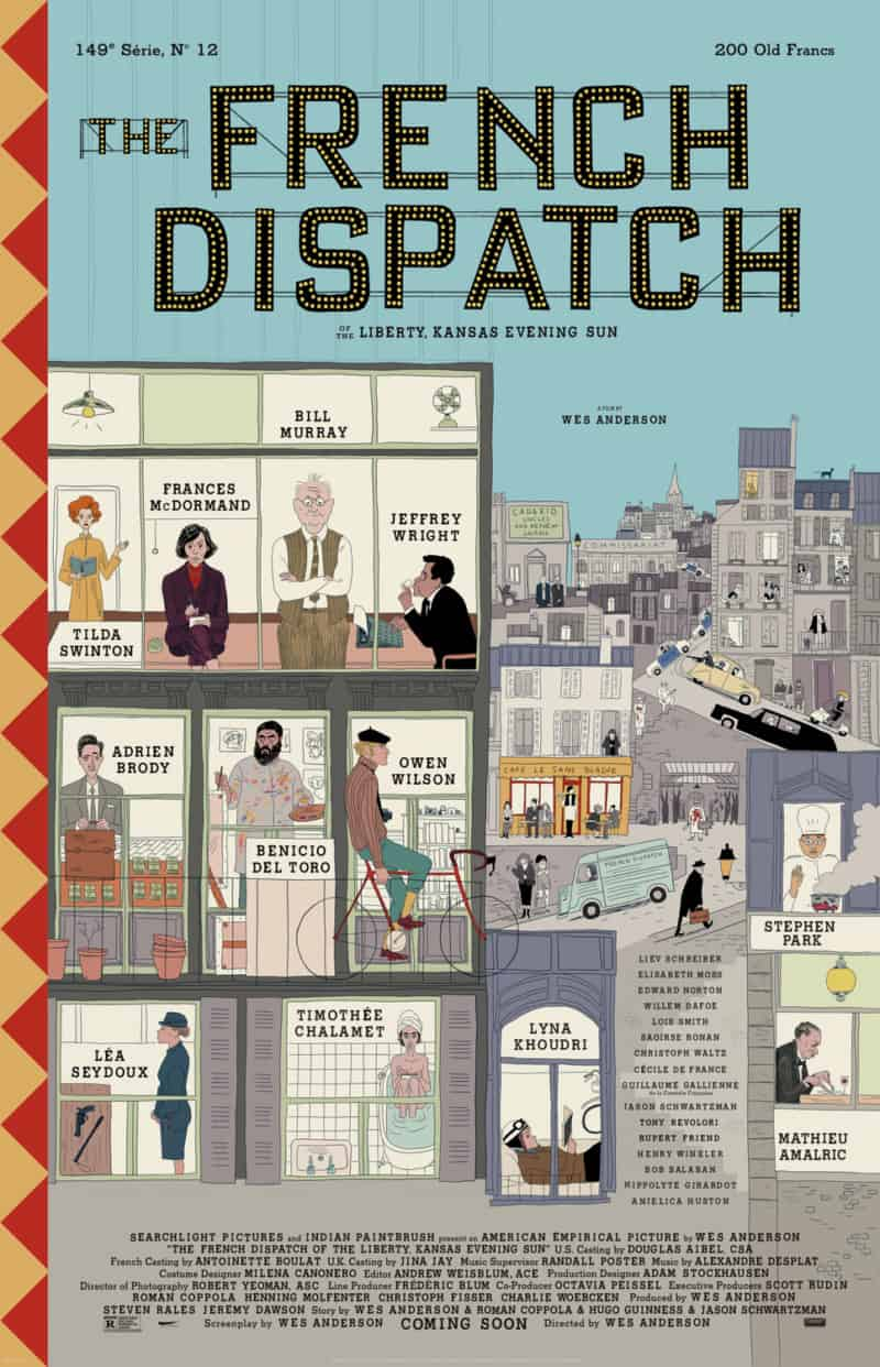 French Dispatch poster trailer 2020