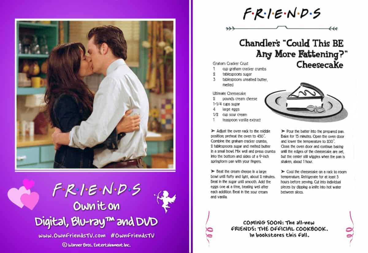 Friends recipe Valentine's Day