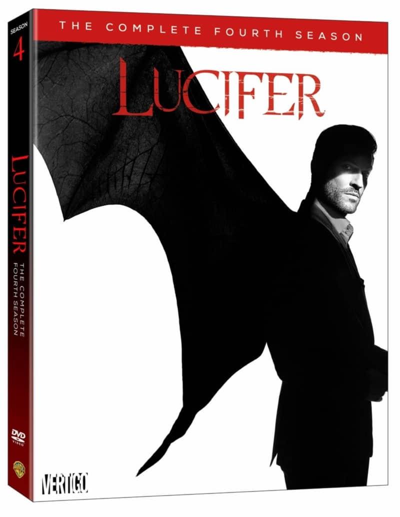Lucifer Season 4 DVD