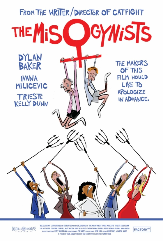 The Misogynists poster