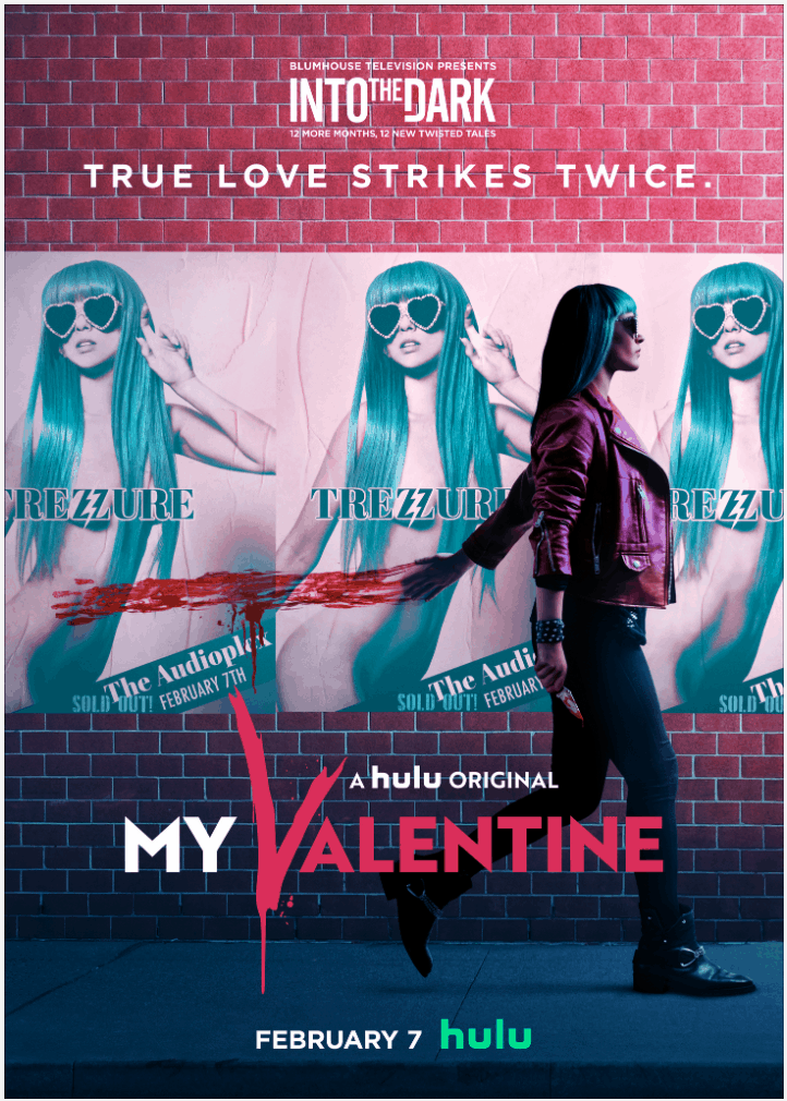 My Valentine Into the Dark Hulu TV poster