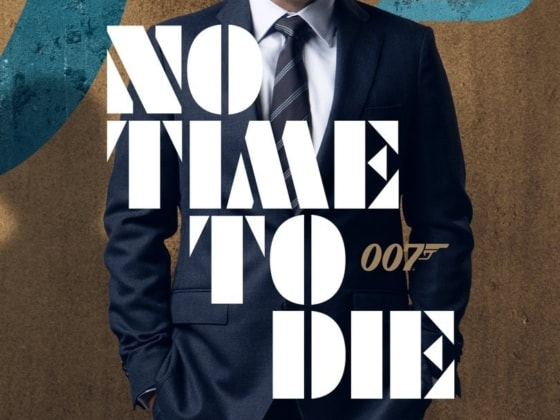 No Time to Die poster Feb 2020