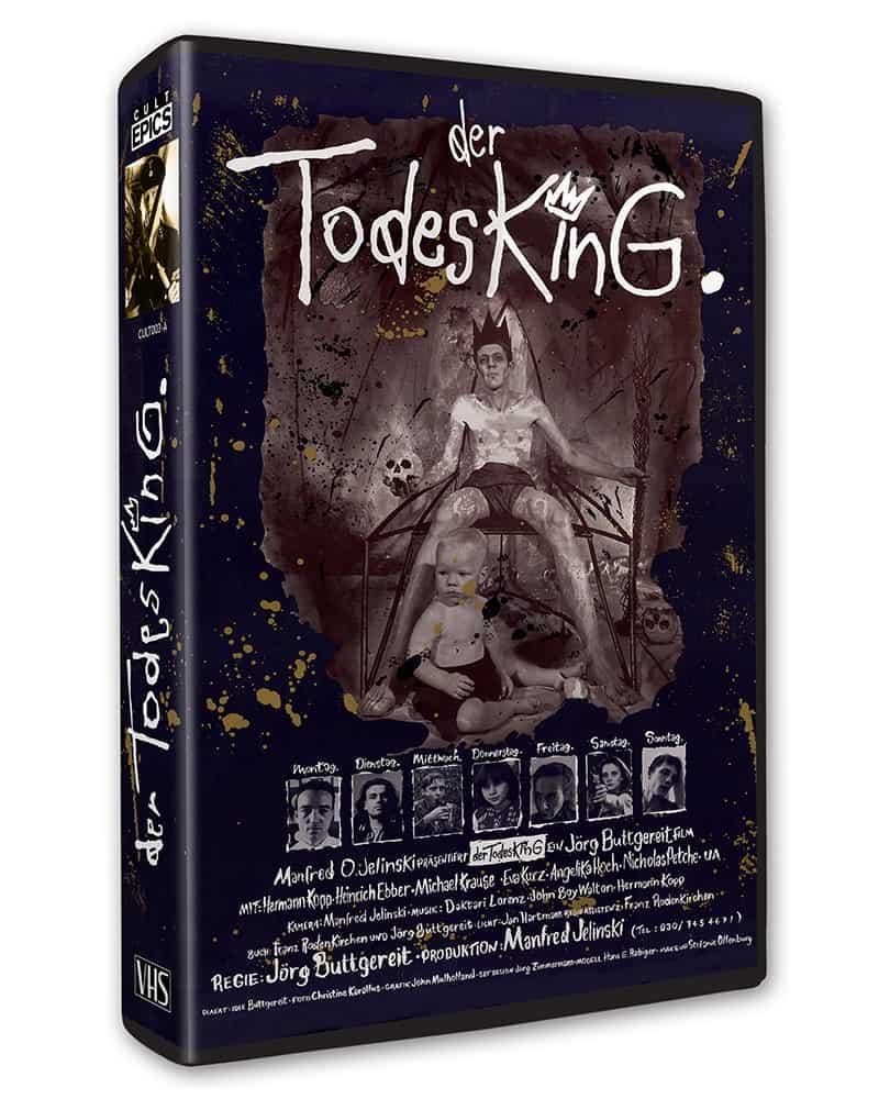 Der Todesking VHS box A Cult Epics