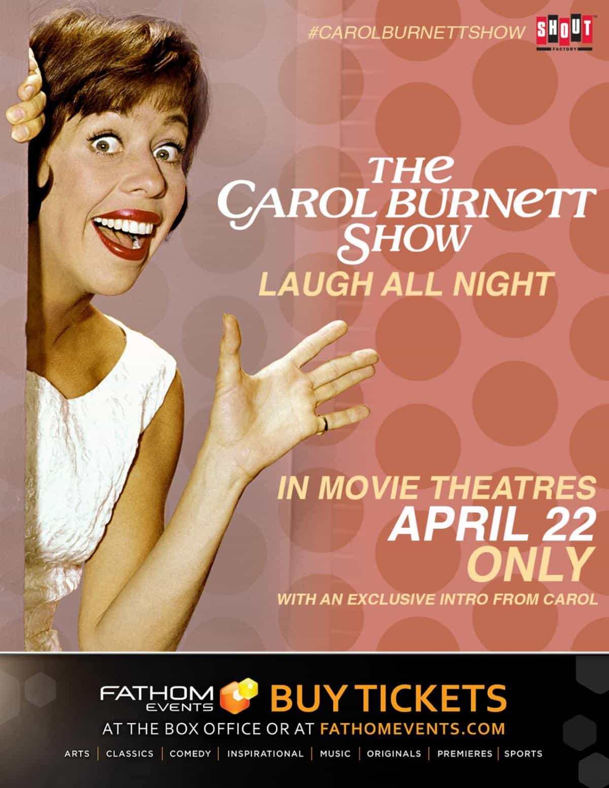 Carol Burnett Show Laugh All Night 2020 poster
