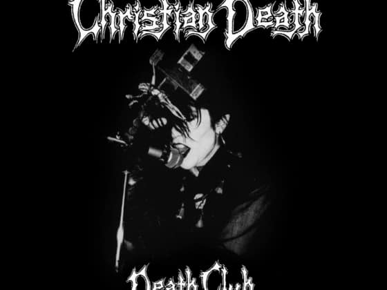 Christian Death Death Club CD DVD