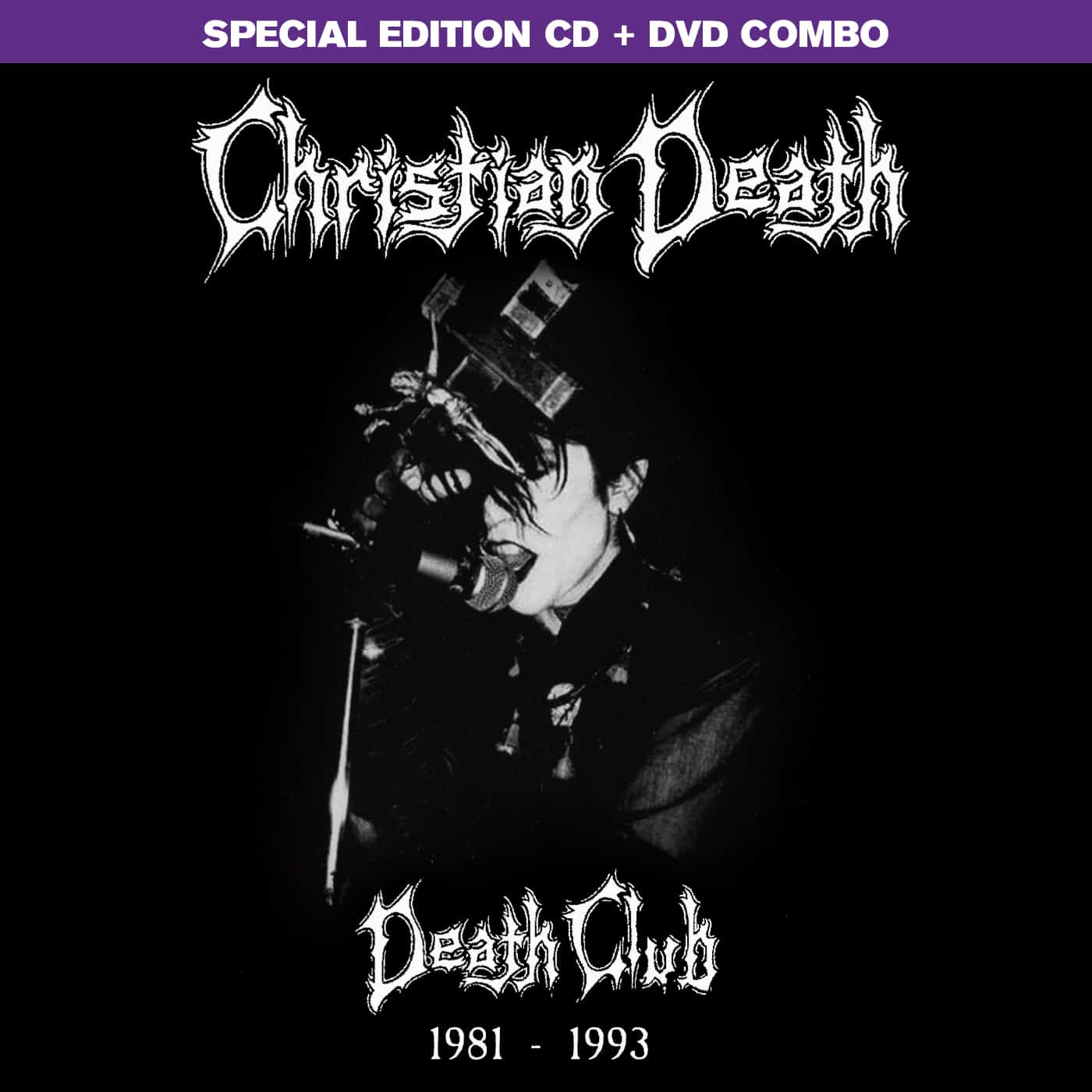 Christian Death Death Club CD DVD