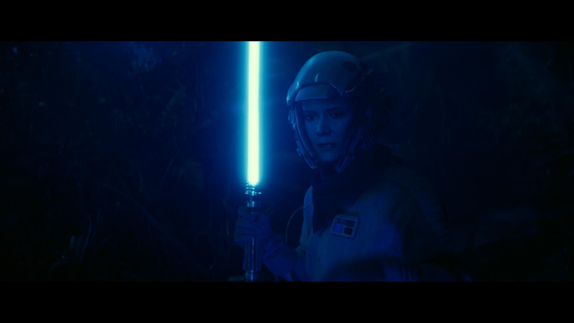 Rise of Skywalker Leia ROTJ