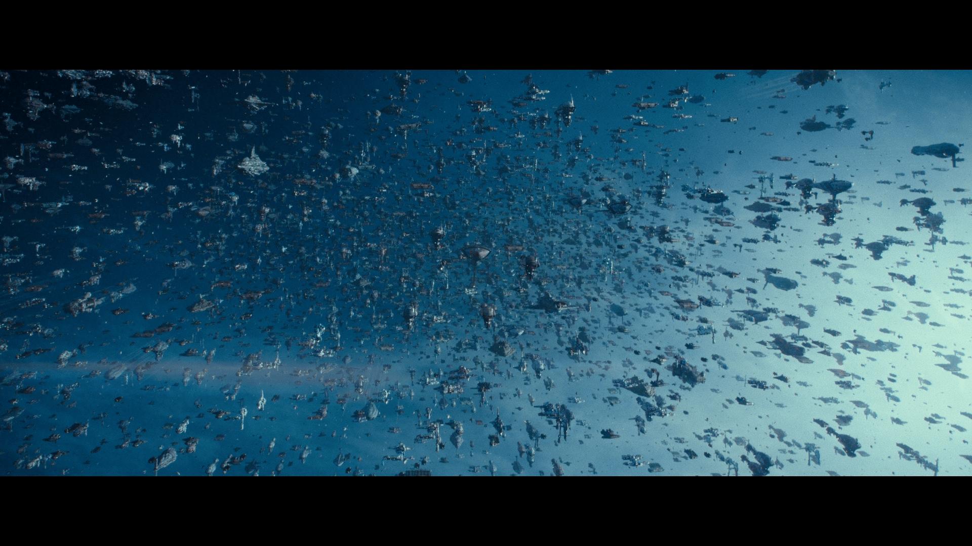 Rise of Skywalker all the damn ships