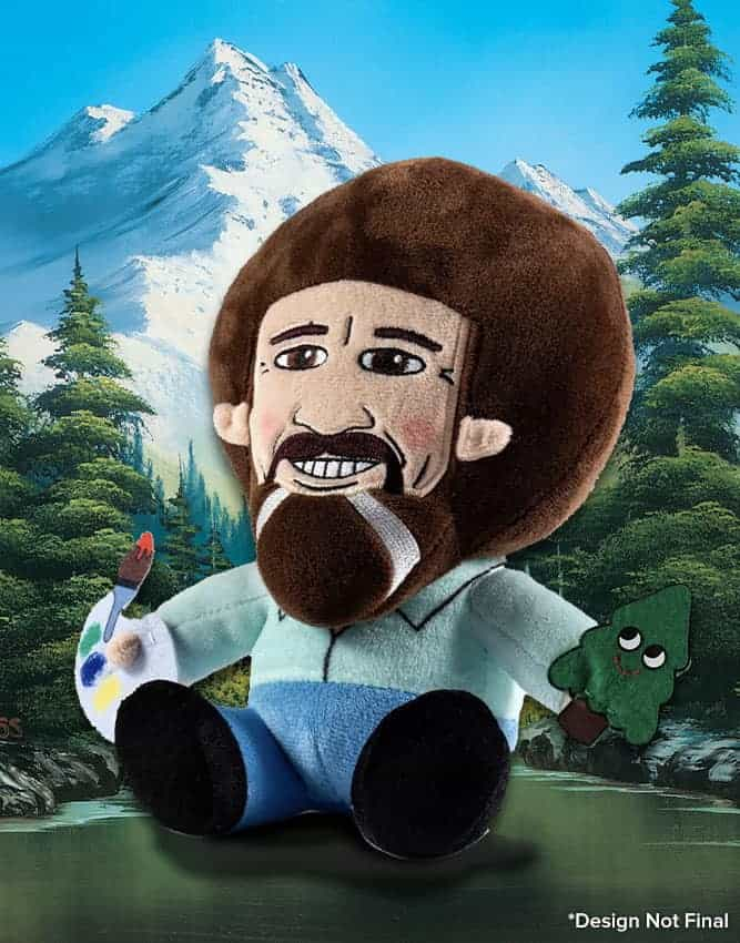Bob Ross plush Lootcrate Happy Little Crate Loot Crate
