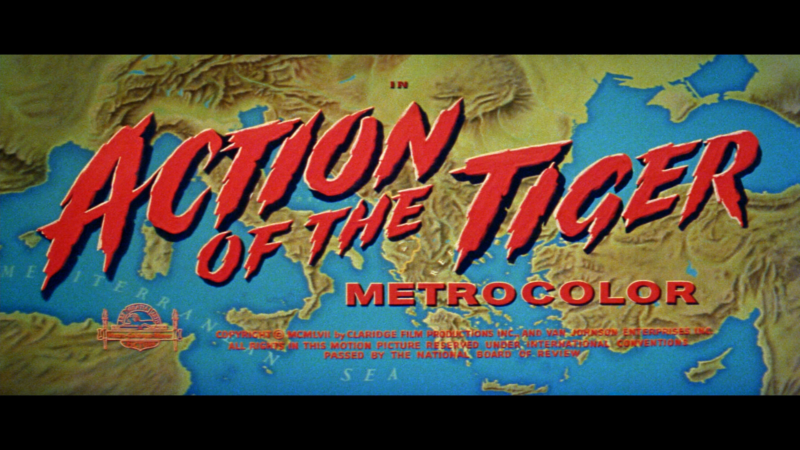 action of the tiger title