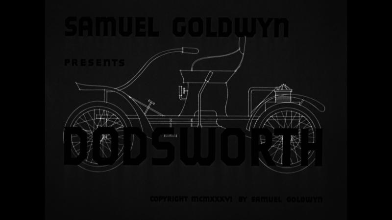 Dodsworth title Warner Archive Blu-ray