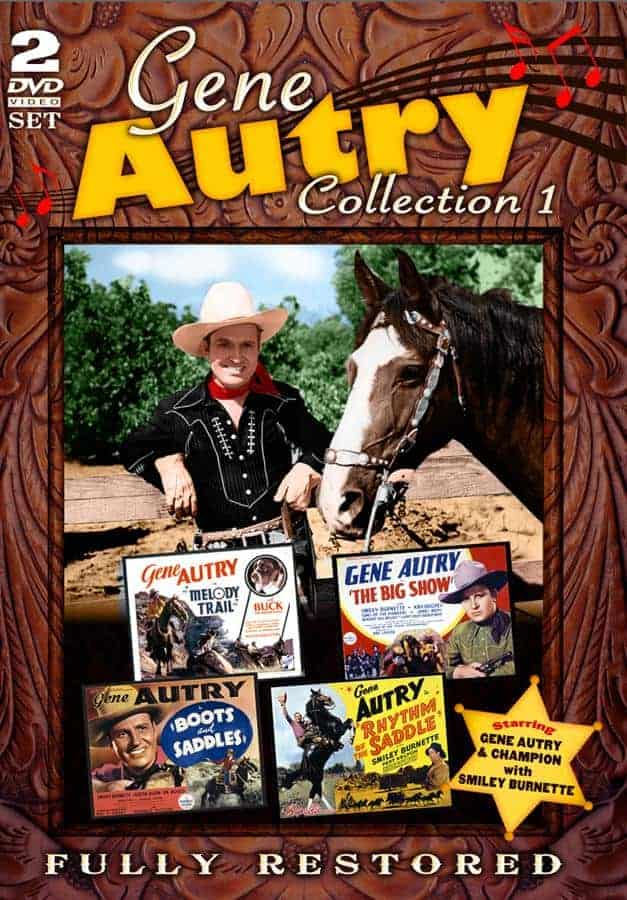 Gene Autry Collection DVD Archive