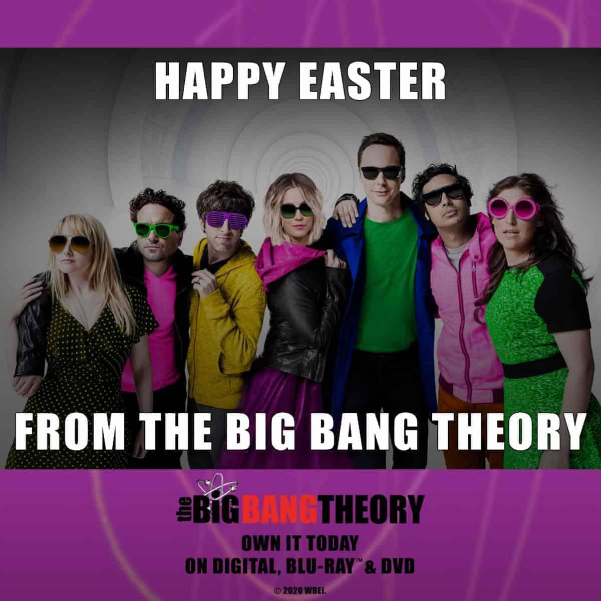 Happy Easter Big Bang Theory