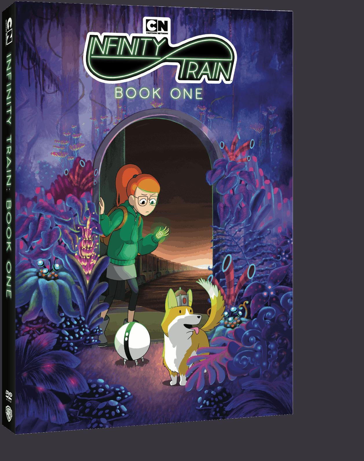 Infinity Train Book One DVD box Cartoon Network