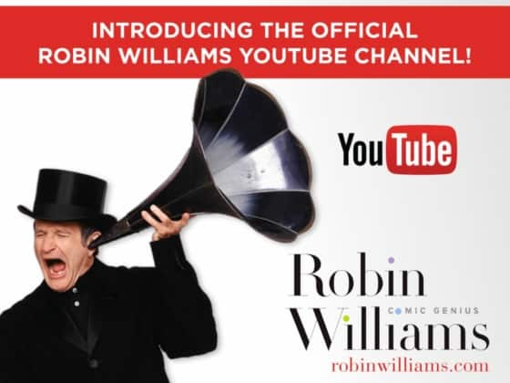 Robin Williams Youtube channel