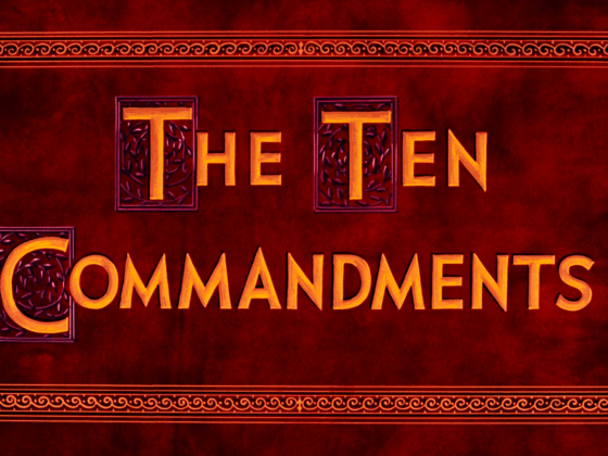 The Ten Commandments 1956 blu-ray 2020