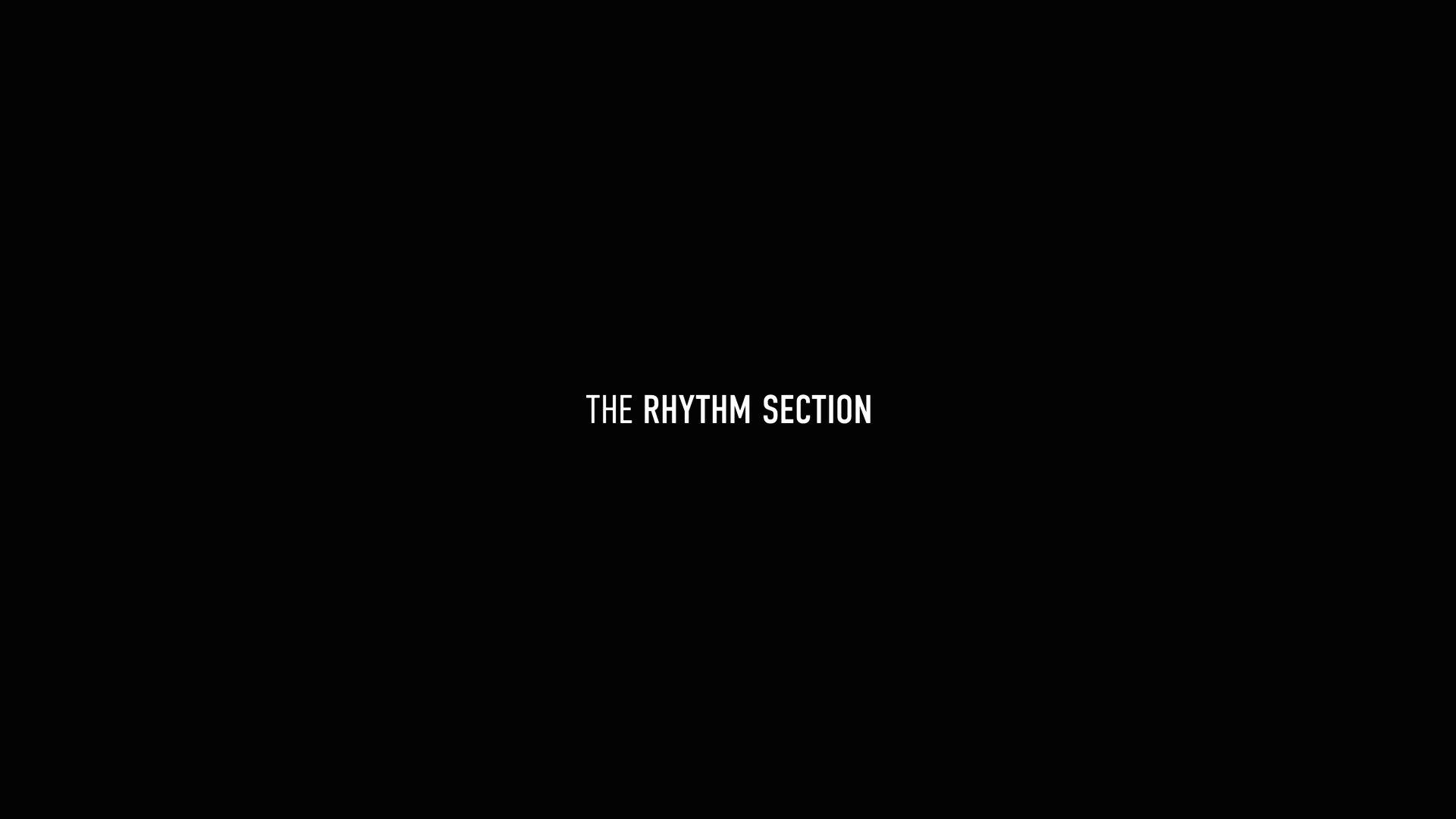 the rhythm section title