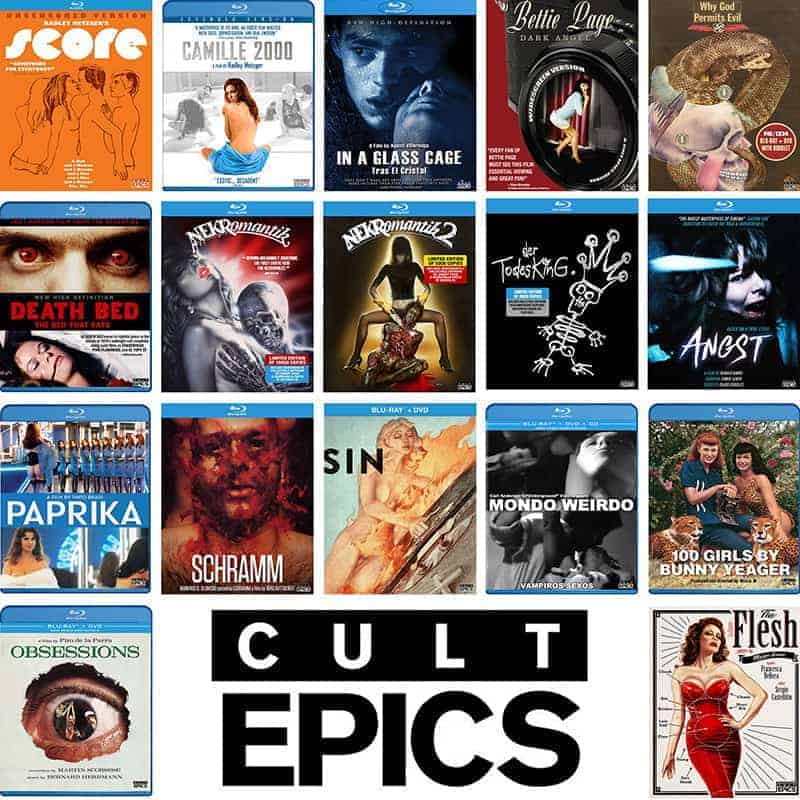 Cult Epics Blu-ray sale Paperwhite